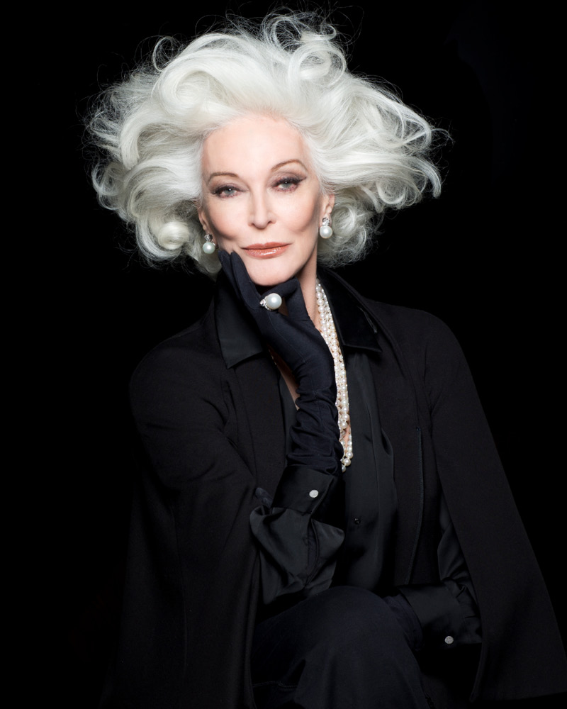 NEW YOU Magazine model CARMEN DELL'OREFICE stylist ISE WHITE photographer FADIL BERISHA
