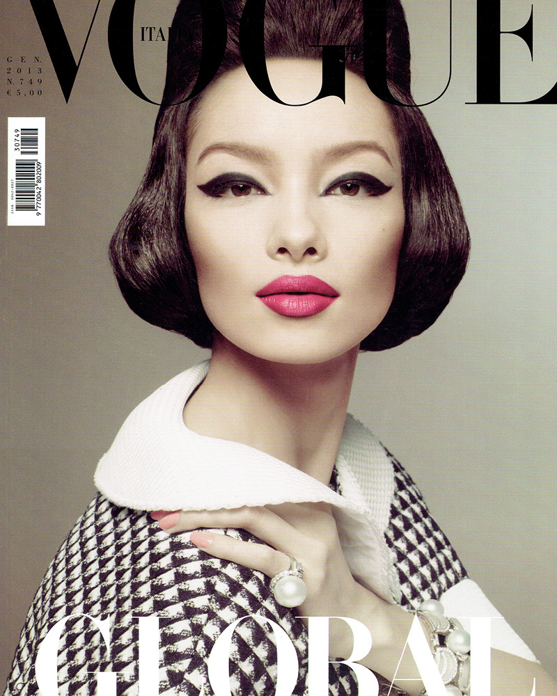 VOGUE Italia model FEI FEI photographer STEVEN MEISEL stylist LORI GOLDSTEIN